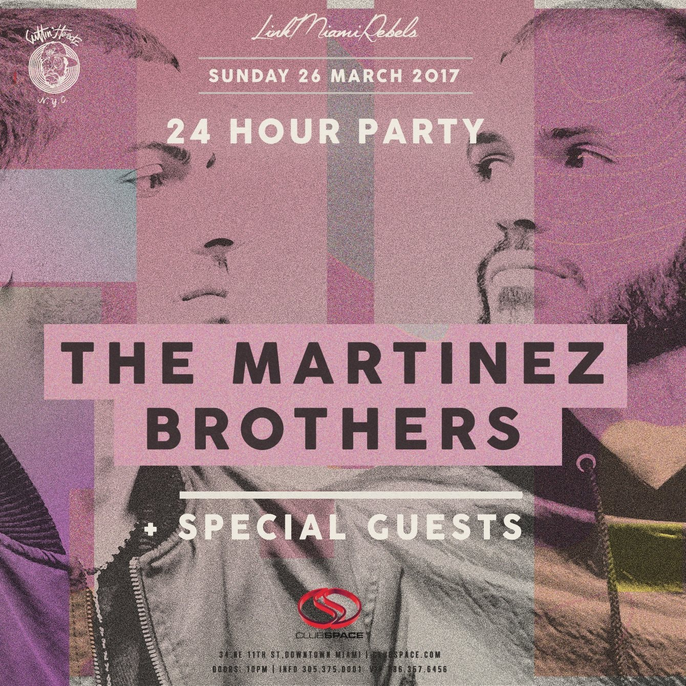 24-Hour Party w/ The Martinez Brothers