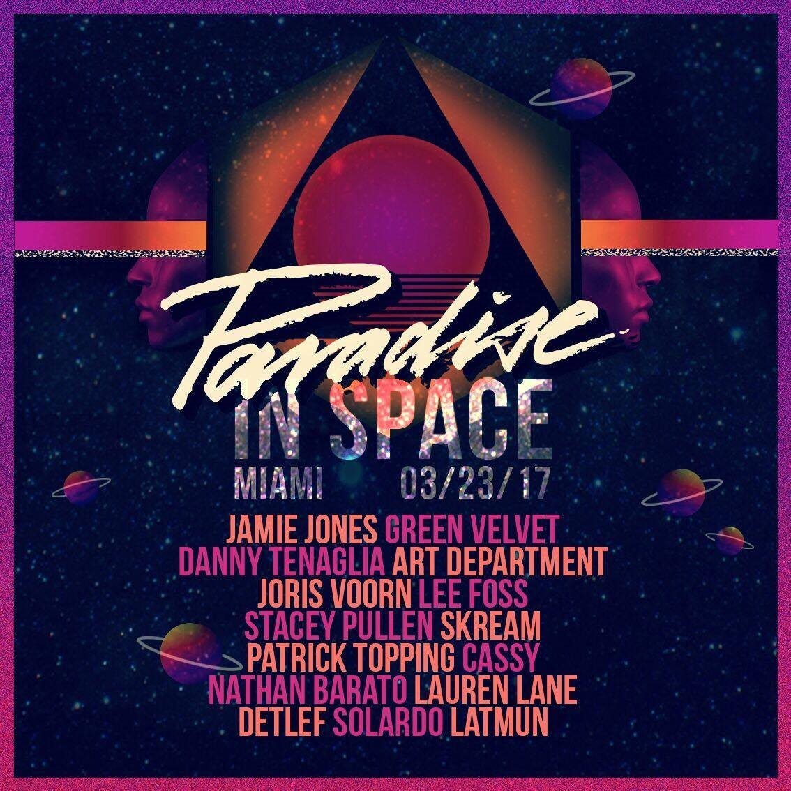 Paradise In Space w/ Jamie Jones