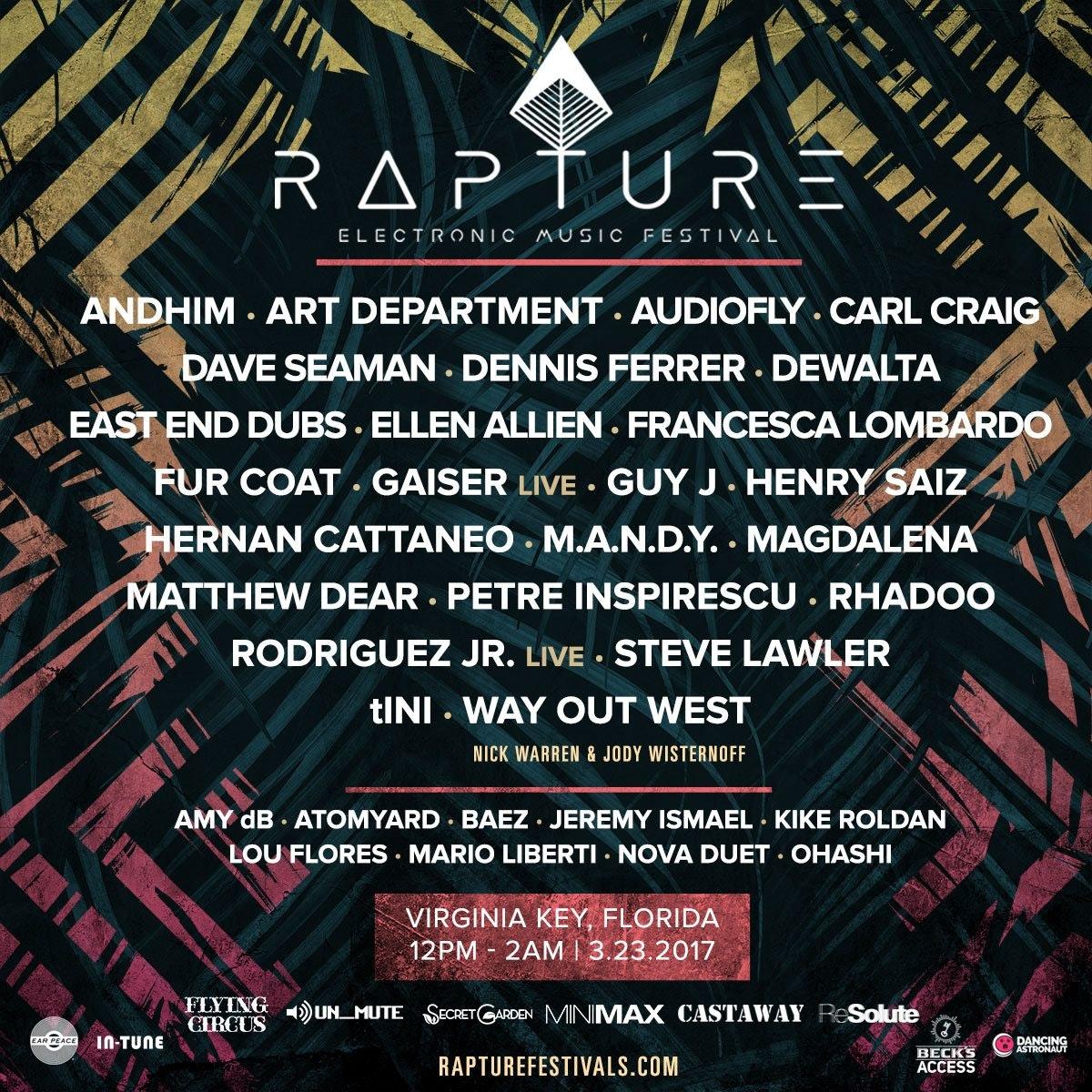 Rapture Electronic Music Festival w/ Ellen Allien