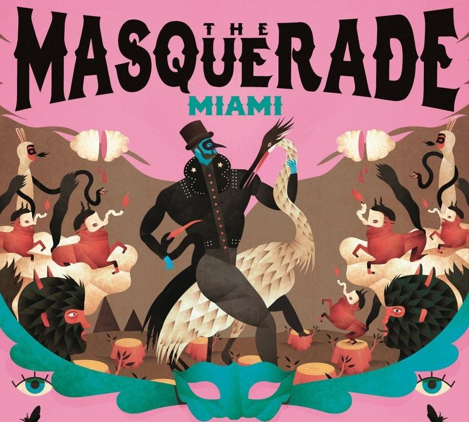 The Masquerade Miami w/ Claptone (Terrace)