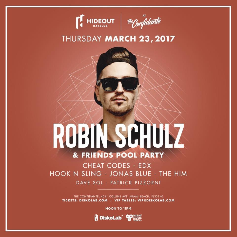 Robin Schulz & Friends Pool Party