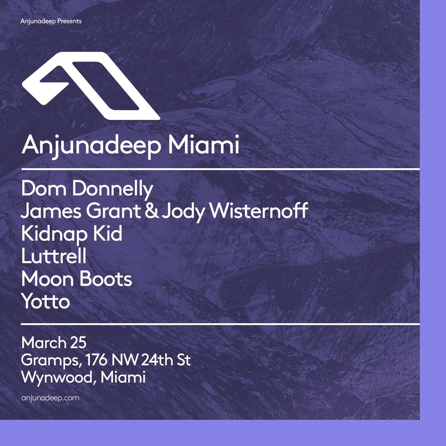 Anjunadeep Miami w/ Kidnap Kid