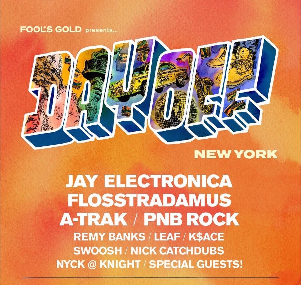 Fool's Gold Day Off NYC w/ Flosstradamus