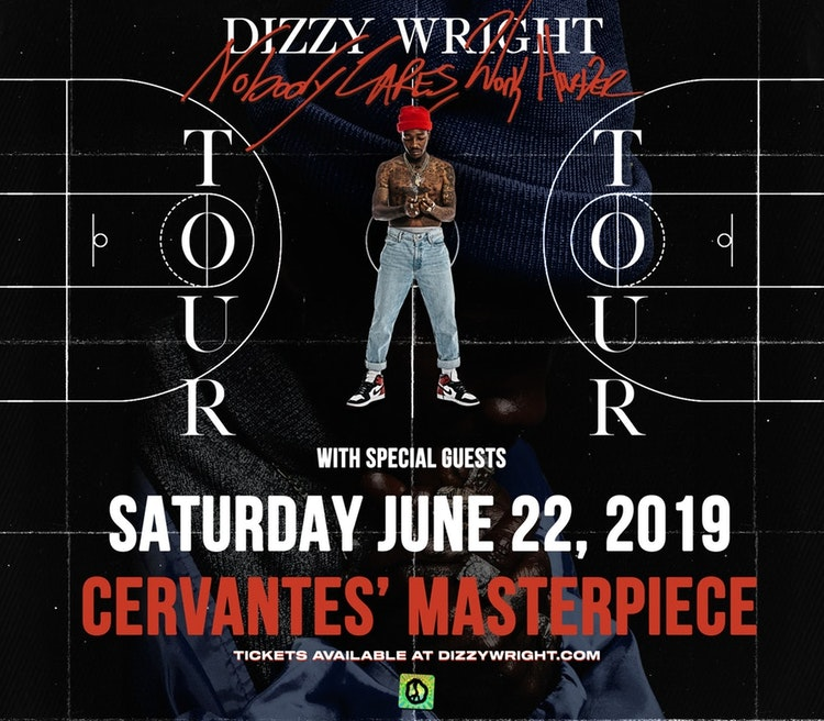 Dizzy Wright at Cervantes Masterpiece Ballroom, Jun 22 — Jukely