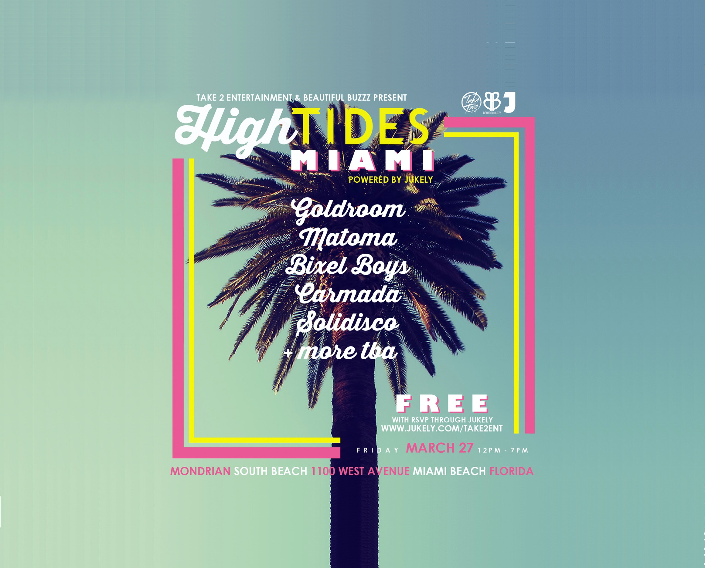 High Tides: Goldroom + Matoma