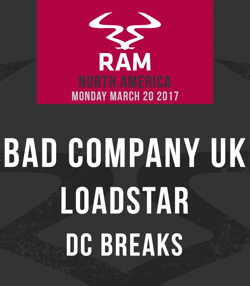 RAMiami w/ Bad Company UK